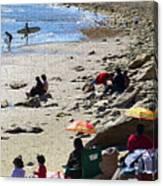 Beach Babies 2 Canvas Print