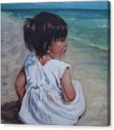 Beach Baby Canvas Print