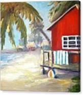 Beach Ball Resort Canvas Print