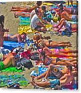 Beach Blanket Bingo Canvas Print