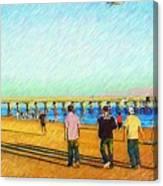 Beach Boys Canvas Print