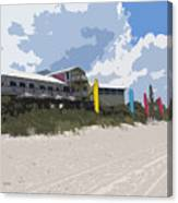 Beach Casino Canvas Print