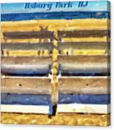 Beach Closed Asbury Park Nj Canvas Print