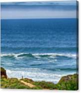 Beach Cloud Streak Canvas Print