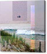 Beach Collage 3 Canvas Print
