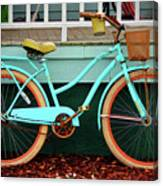 Beach Cruiser Bike Canvas Print