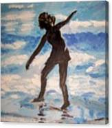 Beach Dancer Canvas Print