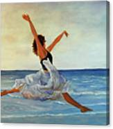 Beach Dancer Canvas Print
