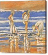 Beach Friends Canvas Print