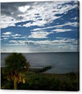 Beach Front Property Canvas Print