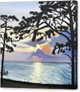 Beach Front Canvas Print