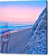 Beach Ghost Canvas Print