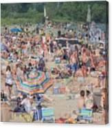 Beach Ghosts Canvas Print