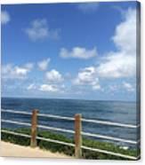 Beach Horizon Canvas Print