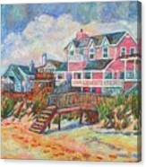 Beach Houses At Pawleys Island Canvas Print