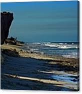 Beach Hutchinson Island, Fl Canvas Print