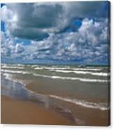 Beach Kincardine Canvas Print