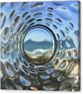 Beach Life Through The Looking Glass Canvas Print