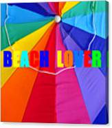 Beach Lover Canvas Print