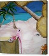 Beach Mural Canvas Print