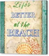 Beach Notes-jp3761 Canvas Print