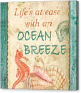 Beach Notes-jp3763 Canvas Print