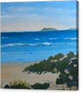 Beach On The North Coast Of Nsw  Canvas Print