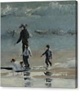 Beach Outing Canvas Print