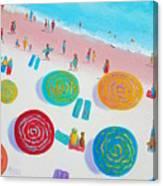 Beach Painting - A Walk In The Sun Canvas Print