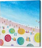 Beach Painting - Beach Bliss Canvas Print