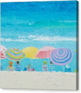 Beach Painting - Color Of Summer Canvas Print