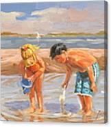 Beach Pals Canvas Print