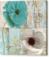 Beach Poppies II Canvas Print