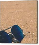 Beach Retro Canvas Print