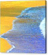Beach Rhythm Canvas Print
