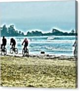 Beach Ride Canvas Print