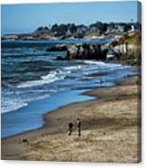 Beach Scene California  Canvas Print