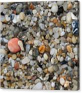 Beach Stones Canvas Print