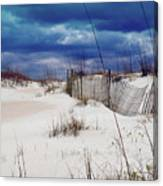 Beach Storm Canvas Print