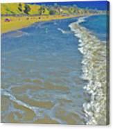 Beach Summer Midday Midweek Canvas Print