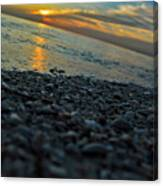 Beach Sunrise Canvas Print