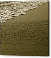 Beach Texture Canvas Print