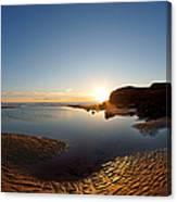 Beach Textures Canvas Print
