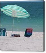Beach Time Is Near Canvas Print