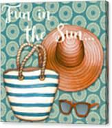 Beach Time-jp3618 Canvas Print