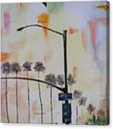 Beach Traffic - Sold Canvas Print