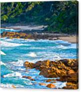 Beach Wedding Canvas Print