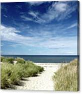 Beach, Welfleet Ma Canvas Print