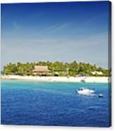 Beachcomber Island Canvas Print