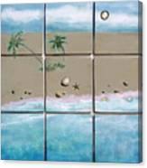 Beaches Cubed Canvas Print